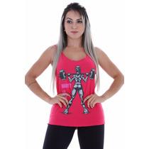 Regata Feminina Longa Daddys Academia/malhar/fitness Hardfit