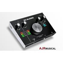 M-audio M-track 2x2 Interface Usb 24bit 192khz M-track2x2