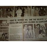 Argentina Sono Films Clipping Recorte Revista Radiolandia
