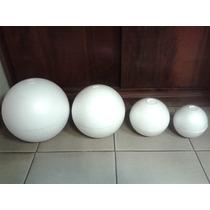 Semi-esferas De Telgopor Nº21 X Bolsa De 5 Unidades.