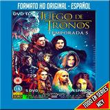 Serie Juego De Tronos 1,2,3,4,5,6,7 Formato Original