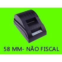 Impressora De Tickets Termica Cupom Não Fiscal 58mm