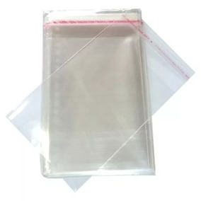 300 Envelope Saquinho Plastico Dvd /cd 14x20cm + Aba Adesiva