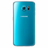 Tapa Trasera Para Samsung S6 Sky Blue Azul