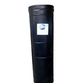 Tanque Cilindrico De Agua 520 Lts, Color Negro,
