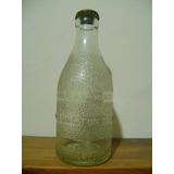 Antigua Botella Labrada Gaseosa Nora