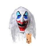Yufeng Payaso De Halloween Máscaras Terroristas, Espeluznan