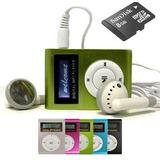 Mp3 Shuffle Pantalla Lcd 8gb - Auric + Cable - La Plata