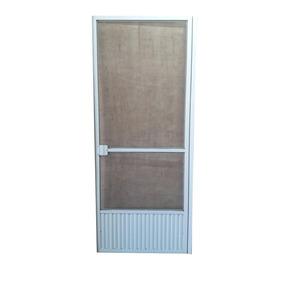Puerta Mosquitero Aluminio Blanco -vaivén- 70x200 Cms