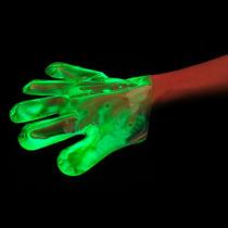 Luvas Neon Glow Para Festa Diversas Cores Brilha No Escuro