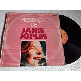 Lp Janis Joplin Serie Dupla Presença De 2lps