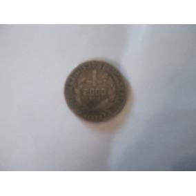 Moeda De Prata 2.000 Réis De 1924