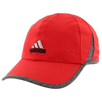 Adidas Hombres Adizero Ii Cap, Power Rojo / Negro / Deepest