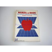 Livro Manual De Basic Appleii H.peckham Byte Mhill - Usado
