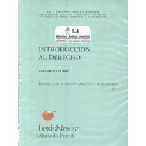 Libro: Introduccion Al Derecho - Abelardo Torre - Pdf