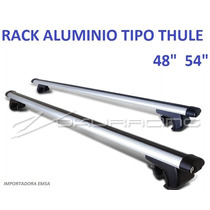 Rack Universal Tipo Thule C/ Llave Para Techo 48 54 Pulgadas