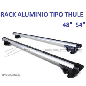 Rack Universal Tipo Thule C/ Llave Para Techo 48 Pulgadas