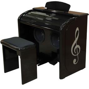 Órgão Eletrônico Digital Acordes - Preto Auto Brilho Top Ele