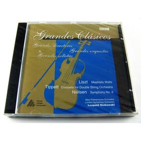 Grandes Clasicos Liszt Tippett Nielsen Stokowski Cd Nuevo