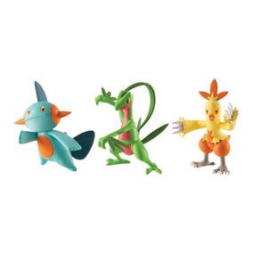 Pokemon - Bonecos Inicias 3 Geração