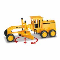 Brinquedo Trator Motoniveladora Motor Grader Roma Brinquedos
