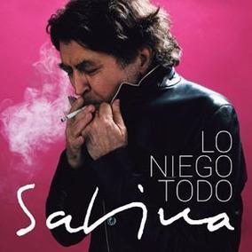 Lo Niego Todo - Joaquin Sabina - Cd - Nuevo - Original