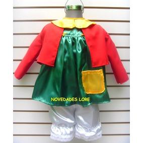 Disfraz Chilindrina Infantil Chavo Del 8 Quiko Popis Ñoño