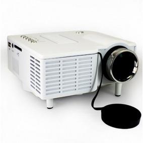 Mini Projetor Led Uc 28 60 Polegadas - Usb/hdmi/vga