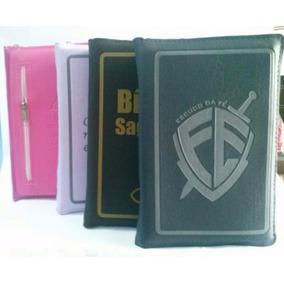 10 Capas Em Ziper Para Biblia Letra Gigante M Cores Variadas