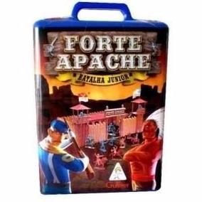 Forte Apache Batalha Jr Brinquedos Antigos Bonecos Gulliver