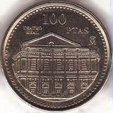 Moneda 100 Pesetas De España 1997 - Teatro Real De Madrid