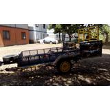 Carreta Remolque Para Cuadra O Mula Cod T111