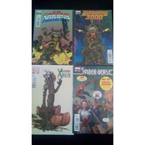 Lote Comics Marvel, Rocket Racoon Y Groot Variants!