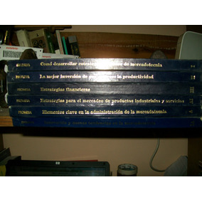 Enciclopedia Estrategias De Harvard 6 Tomos-mercadotecnia