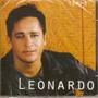 Cd Leonardo - Tempo - Novo***