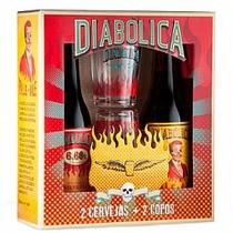 Kit Diabólica Oficial 2 Cervejas + Copos Diabólica