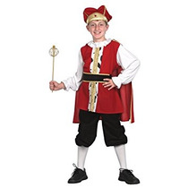 Disfraz Para Niño Niños Pequeños Rey De Vestuario Medieval