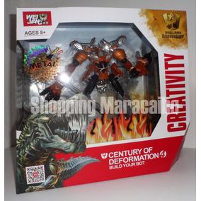 Robot Transformers Con Piezas De Metal Dinosaurio * Tienda*