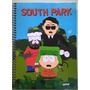 Caderno Spiral Capa Dura South Park 90 Fls
