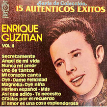 Cd Enrique Guzman Vol 2 15 Autenticos Exitos Usado