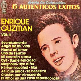 Cd Enrique Guzman Vol 2 15 Autenticos Exitos Usado