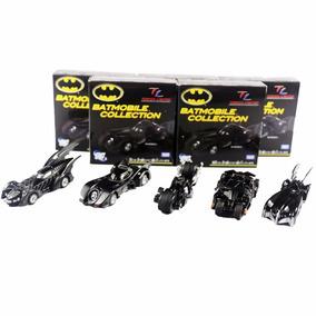 Set 5 Figuras Batmóvel 5 Gerações Colecionáveis Dc Batman