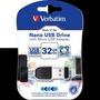 Pendrive Verbatim Nano C/micro Usb Adapter 32gb (5066)