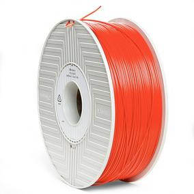 Filamento Abs 3d De 1,75 Mm 1 Kg Verbatim Rojo 55003