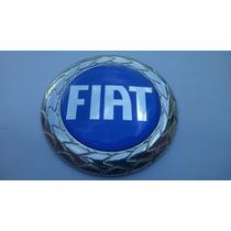 Emblema Capo Fiat Azul C/ Trava P/ Palio Weekend 01/04- Bre