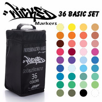 Marcador 36x30 Basic Wicked Markers Promocion