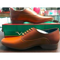 Zapato Para Caballero De Piel Vittorio Envío Gratis
