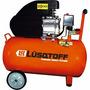 Compresor De Aire 50 Litros 2.5hp + Kit 5 Piezas Luqstoff