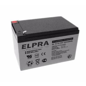 Bateria Elpra Vrla Gel-agm 12v 12ah/dc Ups-solar-eolica.