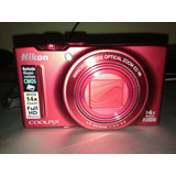 Nikon S8200 16 Mpx Roja